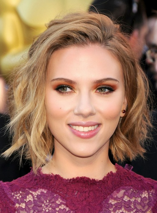 Excellent Scarlett Johansson Hairstyles Celebrity Latest Hairstyles 2016 Hairstyle Inspiration Daily Dogsangcom