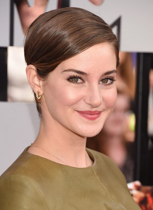Formal Hairstyles For Pixie Cuts Shailene Woodley S Straight Short