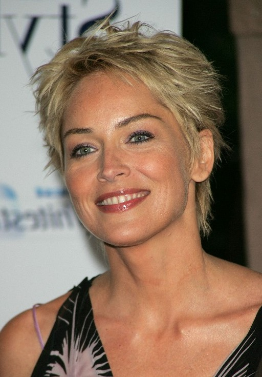 Image Search Sharon Stone Hair | Short Hairstyle 2013