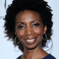 Sharon Washington Short Curly Hairstyle for Black Women