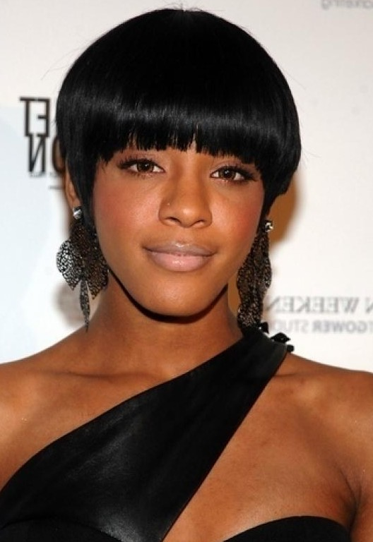 Short Black Bowl Haircut For Black Women Styles Weekly