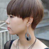 Short Bowl Cut for Girls - Korean Hairstyles for Girls