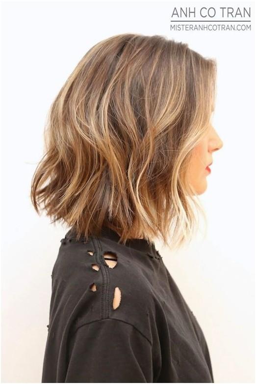 Short Haircut Inspiration Perfect Wavy Bob Styles Weekly