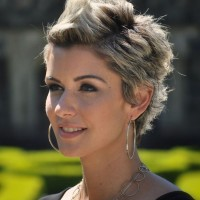 Short Spiky Haircut for Women