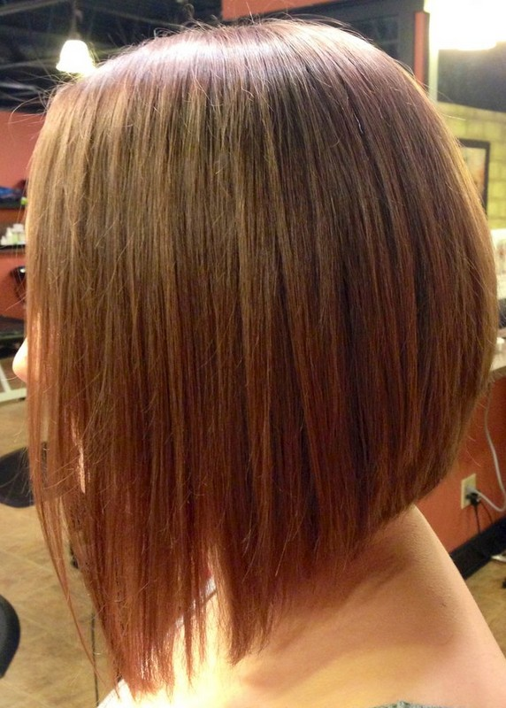 Super Side View Of A Line Inverted Bob Hairstyle Styles Weekly Short Hairstyles Gunalazisus