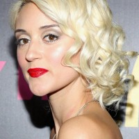 Side View of Caroline D'Amore Finger Wave Hairstyle