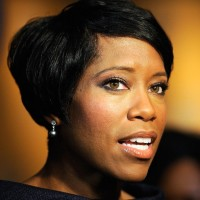 Side View of Regina King Graduated Bob Haircut for Black Women