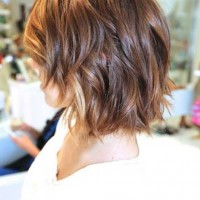 Chic Messy Short Layered Ombre Hair