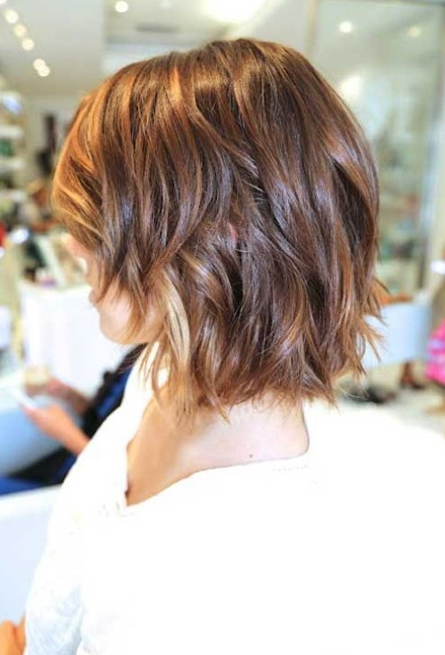 Chic Messy Short Layered Ombre Hair Styles Weekly