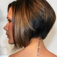 Side View of Short Wedge Bob Haircut
