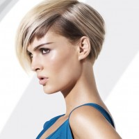 Side View of Wedge Haircut
