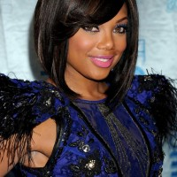 Tiffany Hines Highlighted Inverted Bob Hairstyle for Black Women