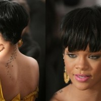 Ultra-Trendy Short 'Rihanna' Bowl Cut