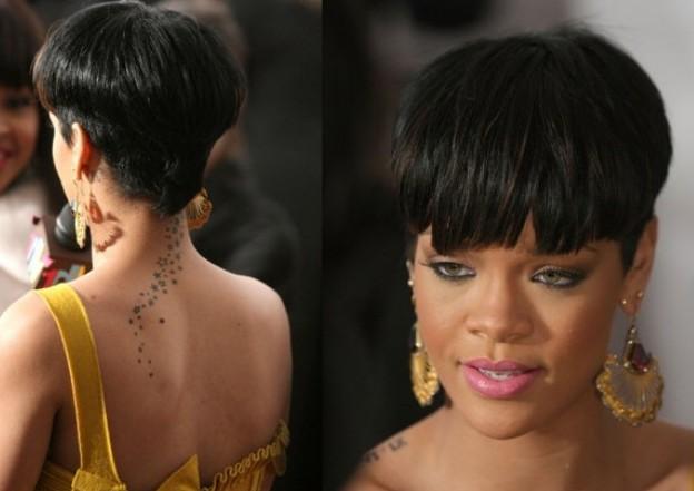 Ultra Trendy Short Rihanna Bowl Cut Styles Weekly