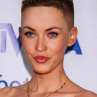 Very Short Flat-top Haircut for Women