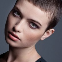 Very Short Buzz Cut for Women