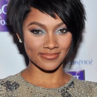 African American Short Black Razor Cut from Bria Murphy