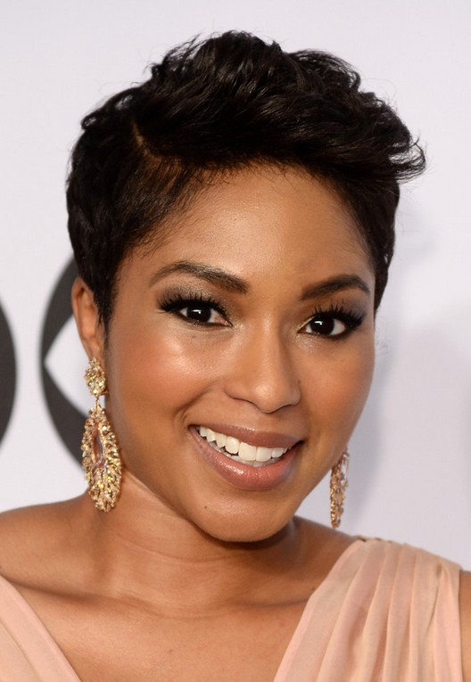 African American Short Side Part Haircut from Alicia Quarles