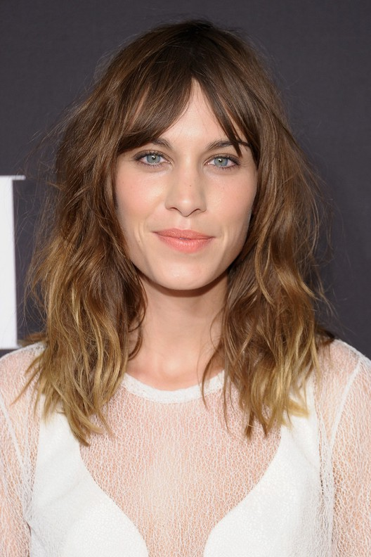 Medium Length Wavy Haircuts With Bangs  Wavy Haircut