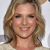 Ali Larter Mid Length Blonde Wavy Hairstyles for Women