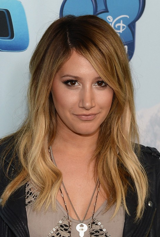 Free wedding dress sweepstakes - Ashley Tisdale Long Layered Wavy Hairstyle With Bangs Styles Weekly