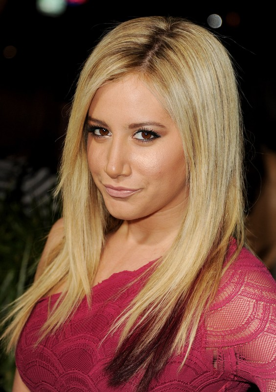 Ashley Tisdale Medium Hairstyles