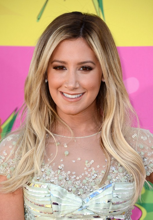 Ashley Tisdale Ombre Hair