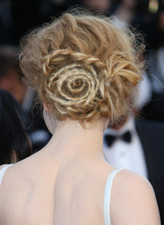 Back View of Nicole Kidman Updo