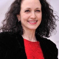 Bebe Neuwirth Shoulder Length Curly Hairstyle for Fine Hair