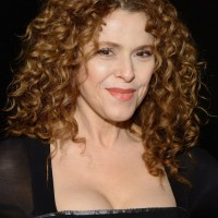 Bernadette Peters Medium Blonde Curly Hairstyle