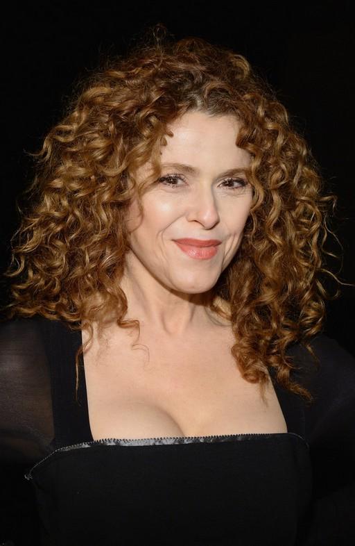 Bernadette Peters Medium Blonde Curly Hairstyle Styles