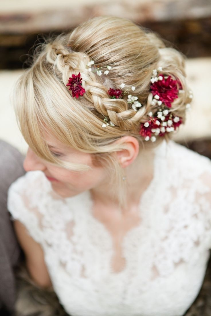 Braid Updo Hairstyles for Wedding