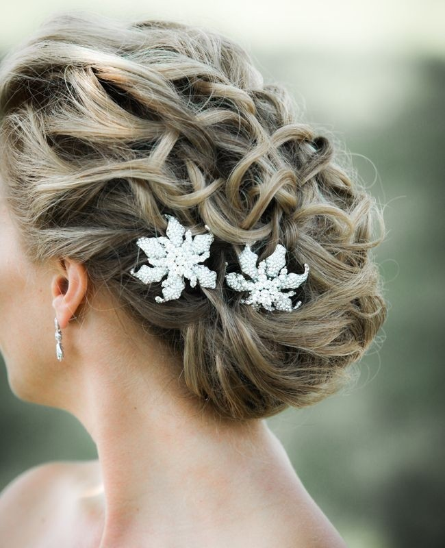 Bridal Updo Hairstyle Back View