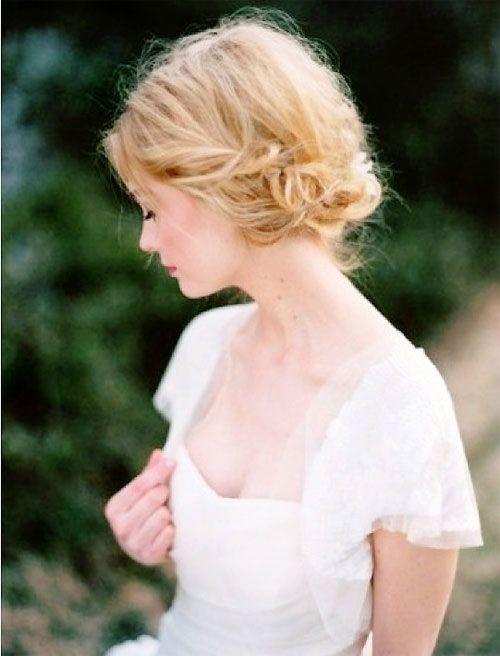 Brides Hairstyles for Medium, Short Hair