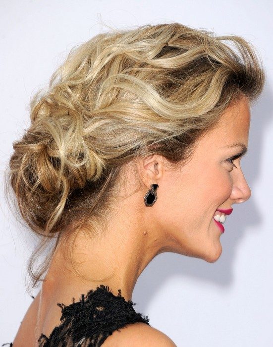 Brooklyn Decker Loose Bun
