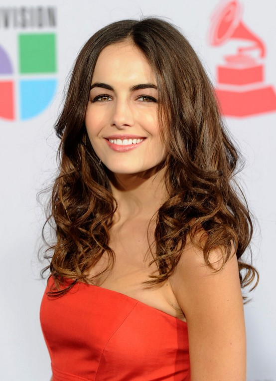 Camilla Belle Curly Hairstyles