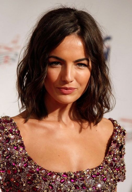 Camilla Belle Medium Hairstyles