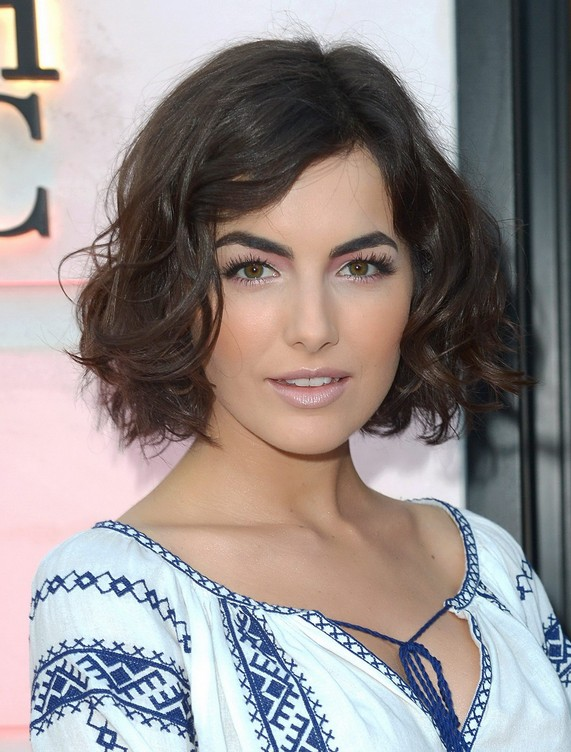 Camilla Belle Short Haircuts