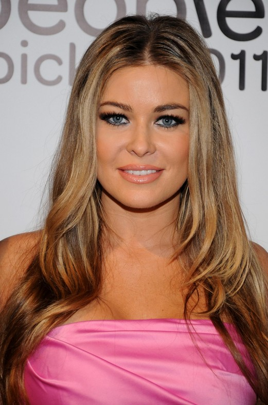 Carmen Electra Long Hairstyles