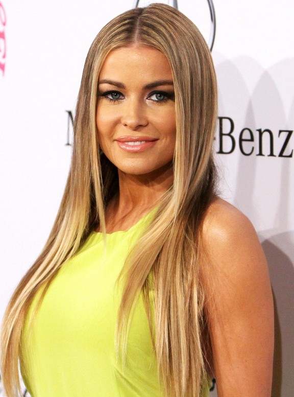 Carmen Electra Sleek Hairstyles