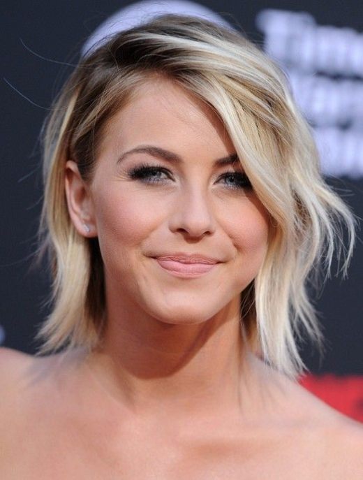 trendy short hairstyles for women celebrity cute short ombre haircut