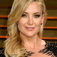 Celebrity Medium Length Hairstyle for Homecoming from Kate Hudson