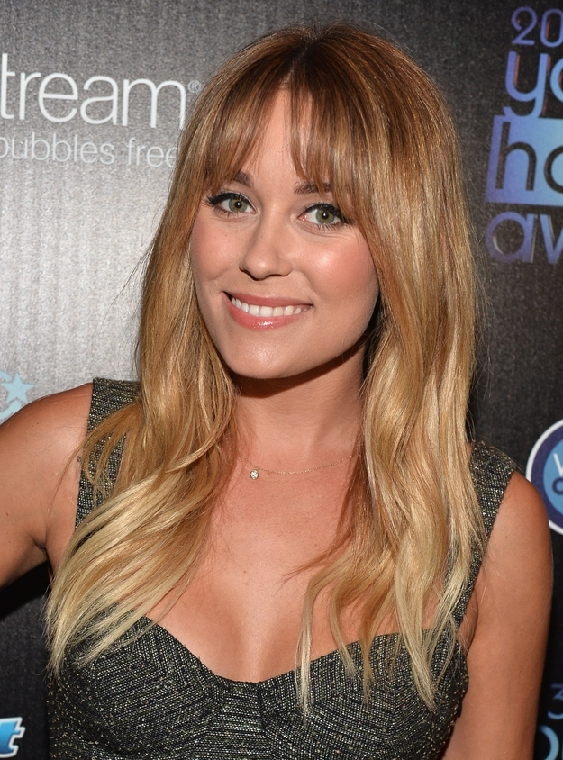 Celebrity Ombre Hair Style From Lauren Conrad Styles Weekly