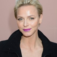 Charlene Wittstock Short Straight Haircut for Women