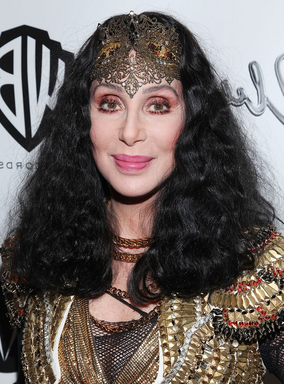 Cher Medium Black Curly Hairstyle For Women Over 60 Styles Weekly