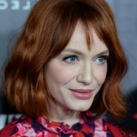 Christina Hendricks Readhead - Short Wavy Bob Cut for Women Over 40