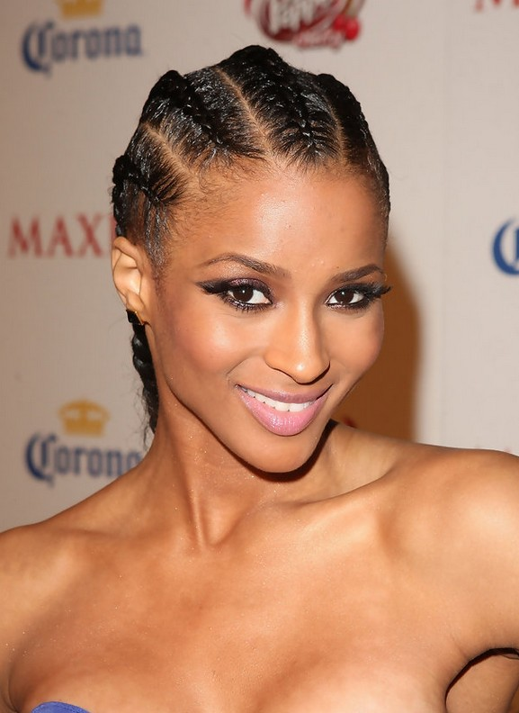 Ciara hairstyles celebrity latest hairstyles 2016 ciara cornrows pmusecretfo Gallery
