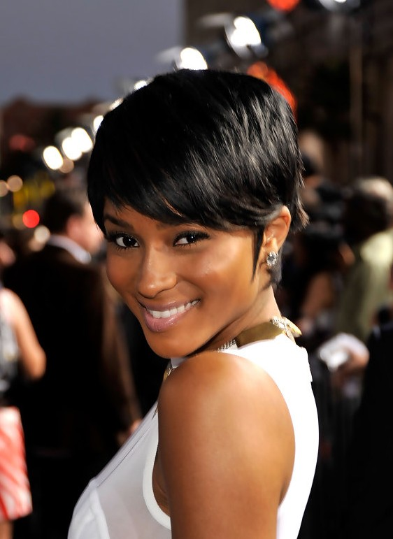 Ciara Short Haircut