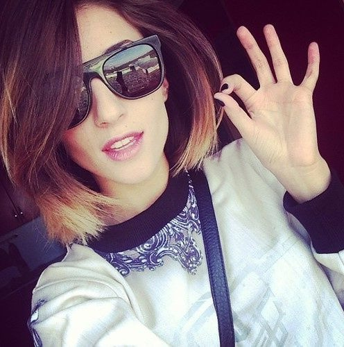 Cool Ombre Hair for Short Hair