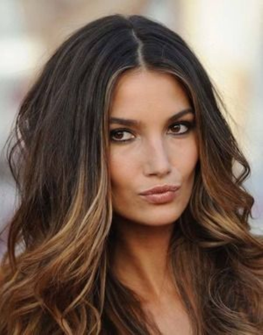 Cute Natural Ombre Hair Look